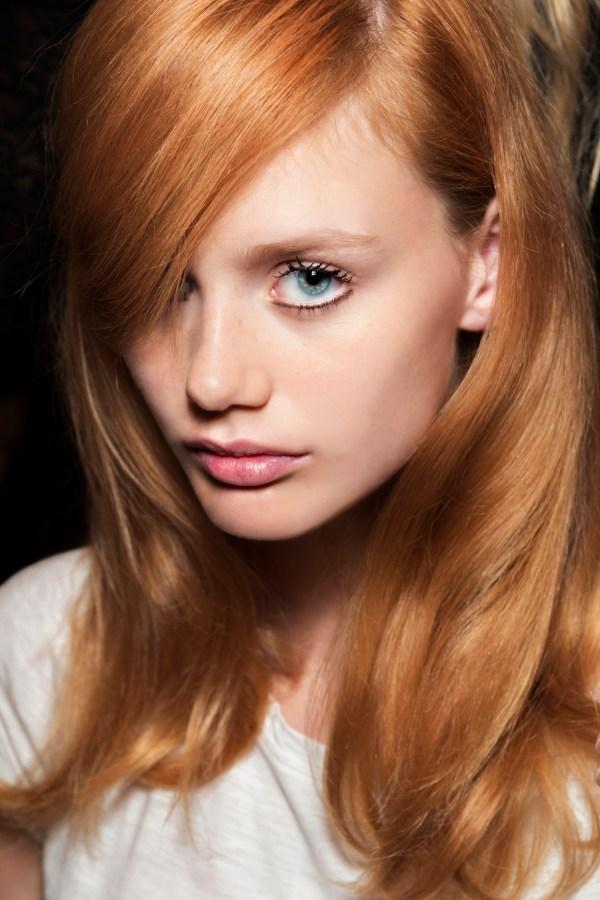 Медовый цвет волос фото для голубых глаз: какой оттенок ...