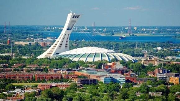Estádio Olímpico de Montreal, Quebec, Canada