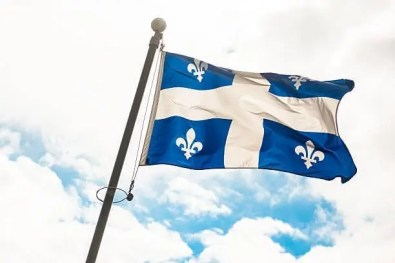 Bandeira do Quebec no Canada