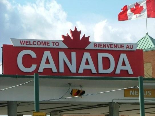 Welcome to Canada. Imagem para quem imigra para o Canada