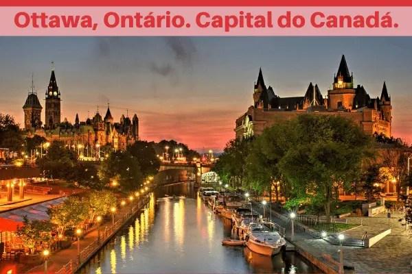 Ottawa, Ontário, capital do Canadá