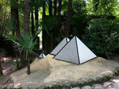 Jeg er vild med denne 3d Roy Lichtenstein skulptur i Heller garden © iminhave.dk