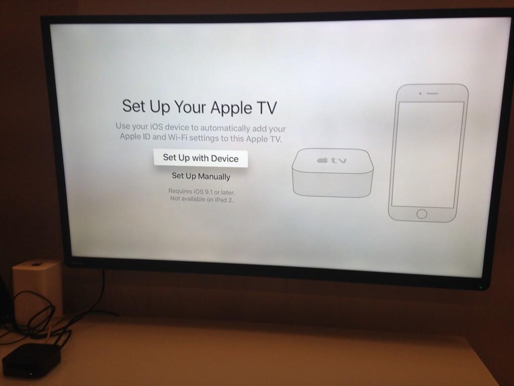 Set up Apple TV
