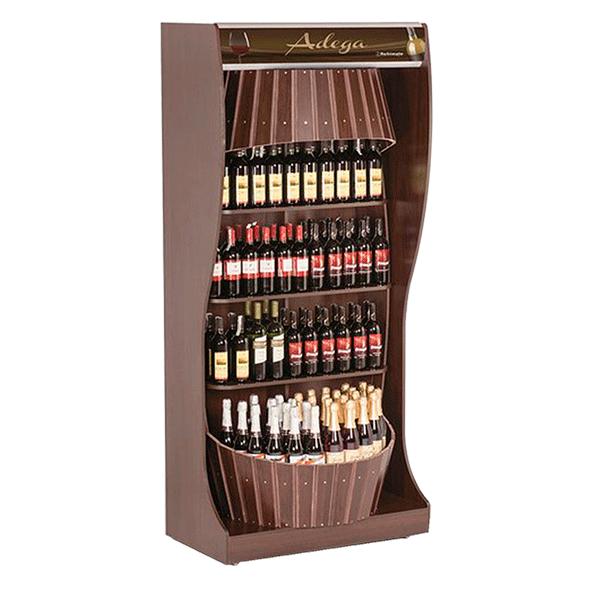 Muebles para vinos the prairie wine rack plan features for Mueble vinos