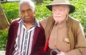 Mr & Mrs Harrison aged 95 & 96