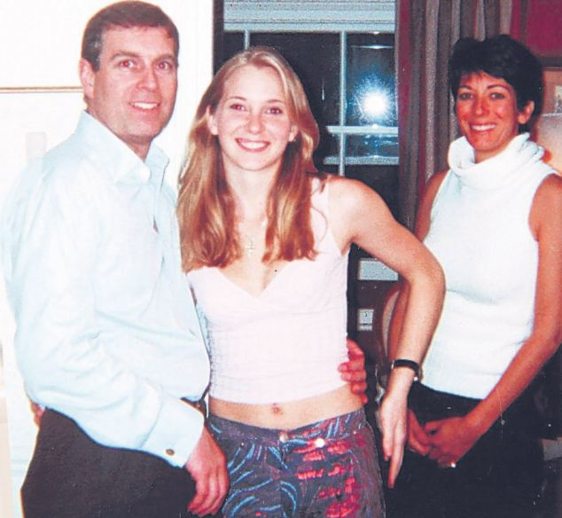 Prince Andrew 40+ Miss Roberts aged 17