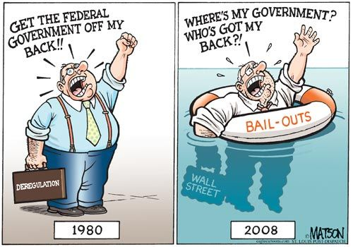 left wing deregulation results in a sinking ship 03 | www.imjussayin.com