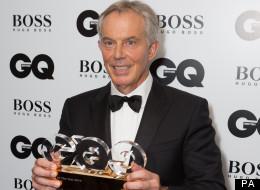 Tony Blair GQ award for best Philanthropist