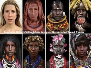 borlaka in blackface