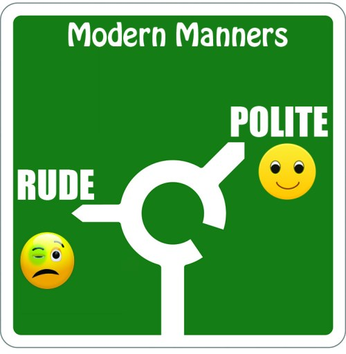 A road map to modern manners   Modern Manners 0   www.imjussayin.com
