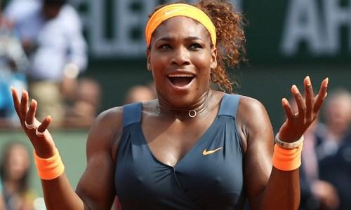Serena Williams | Caster Semenya and Jarmila Kratochvilova | black-women-oi-russia-biles-and-williams-are-our-darkies-www-imjussayin-com