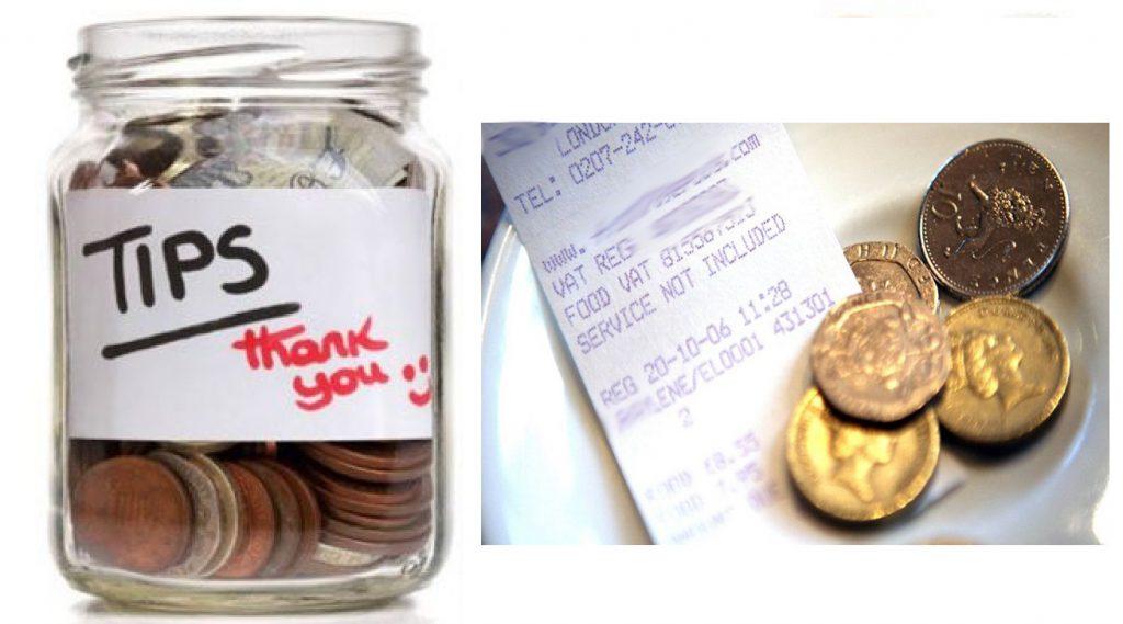 tipping jar £1 coins tipping | www.imjussayin.com
