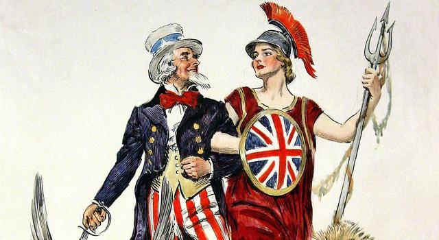 special relationship Britannia and uncle sam | www.imjussayin.com