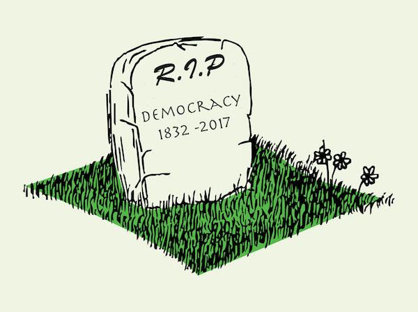landslide victory could be death of democracy   www.imjussayin.com