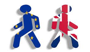 brexit british figure walking away from EU figure | www.imjussyin.com