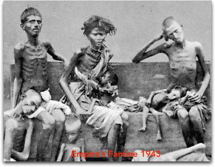 Empire Churchill's Famine  | www.imjussayin.com