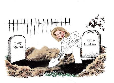 Hopking Katie Hopkins racist | www.imjussayin.com