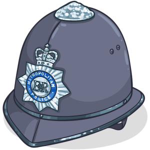 whats on Battling Lewisham police helmet | www.imjussayin.com