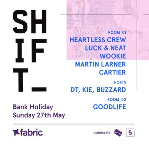 whats on SHIFT | www.imjussayin.com/whatson