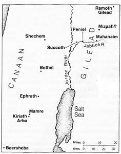 Land of Canaan. Taken from Google Images