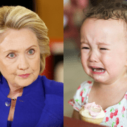 Election Hillary Clinton or Crying Kid