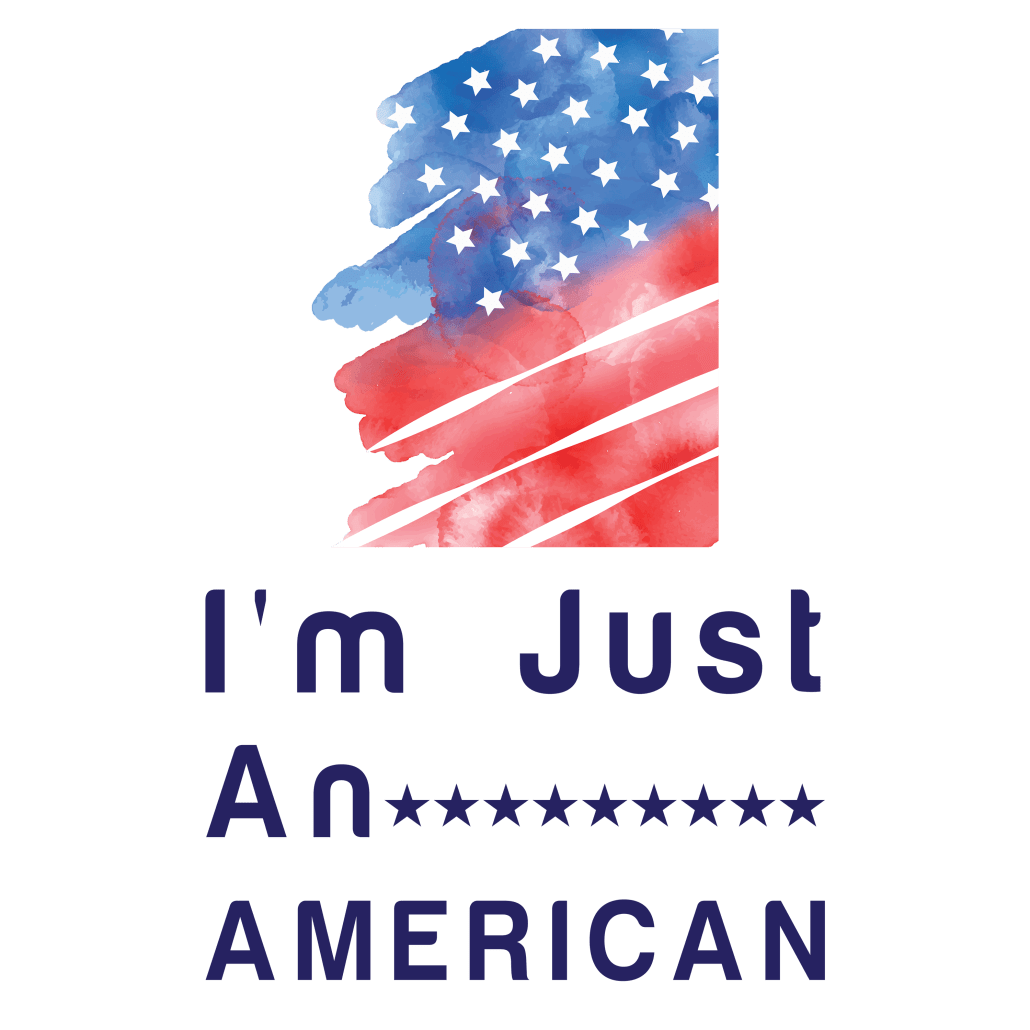 I'm Just An American Logo