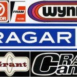 Vintage Car Racing Logos Car Brand Decals Stickers From The 1970 S