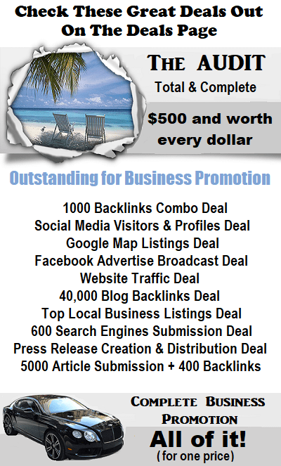 the promotional deals and plans