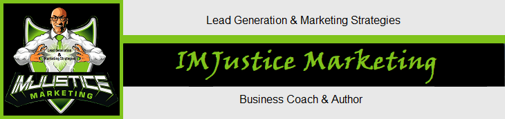 Dave Smith and IMJustice Marketing lime green signature