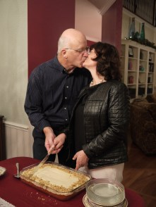 Day 350: Today was the surprise anniversary party for Mom and Dad!