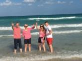 Uwe, Kasi, Finn und ich