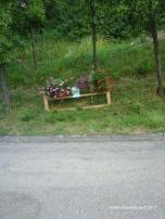Liebevoller Hinweis auf unsere Aktion in Winzenhofen