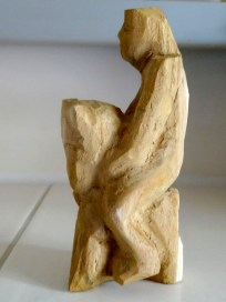 Tiny sculpture by Bodo Henke which I have bought.