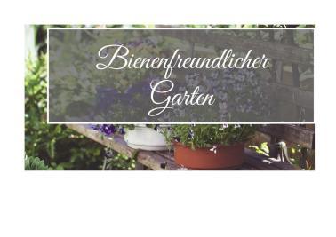 Bienenfreundlicher Hausgarten