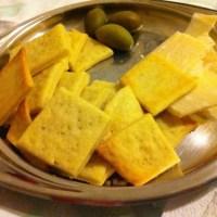 Biscotti salati al parmigiano senza burro
