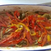 Peperoni al forno alla siciliana