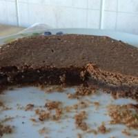 Crostata di frolla ovis mollis e ganache al cioccolato