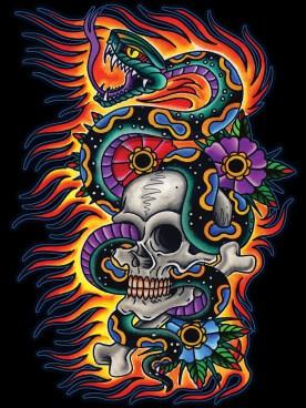 clmn-skull-snake-fire