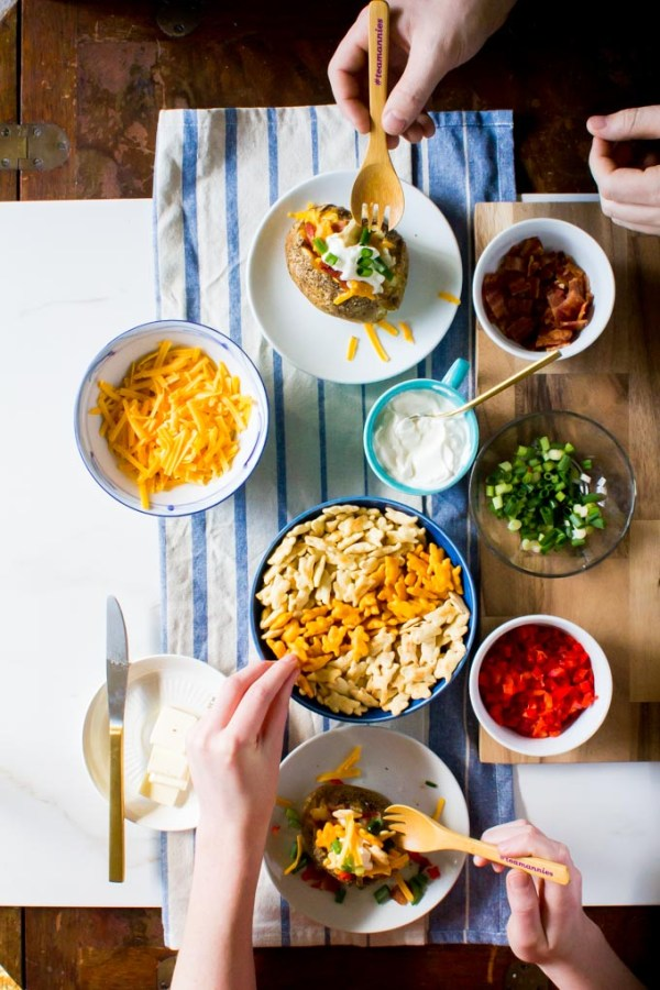 Baked Potato Bar – Yeah…Immaeatthat