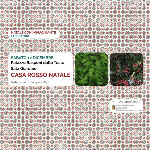 CASA ROSSO NATALE: i laboratori di Natale a Palazzo Rasponi