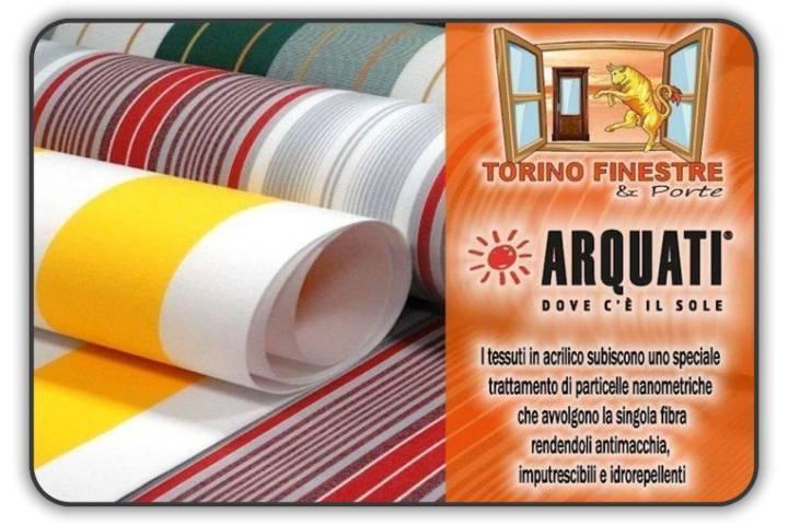 Tessuti vari per tende e coperture da esterno, coperture pergole, teli copritutto, teli verande. Catalogo Arquati Tessuti In Acrilico Tende Da Sole Torino