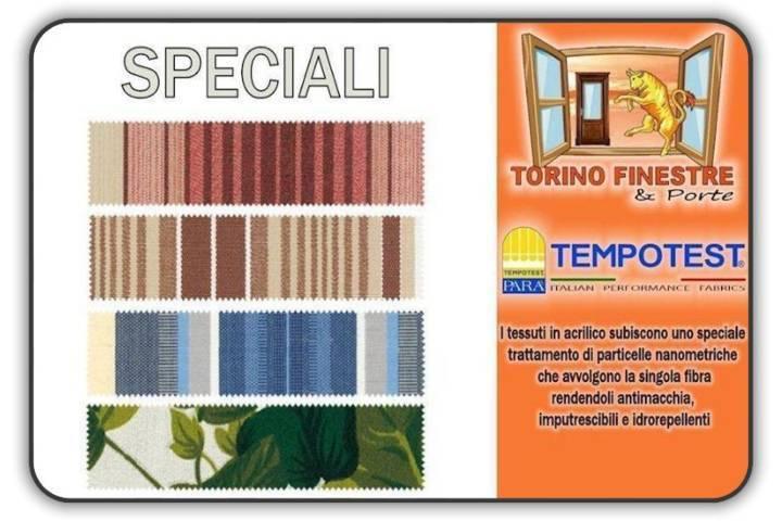· tela di cotone · misto poliestere · acrilico · olefina. Tessuti Speciali Tempotest In Acrilico Tende Da Sole Torino