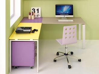 Homcom scrivania ufficio con 2 mensole in legno casa e studio noce e bianco. Scrivanie Per Camere Ragazzi Designbest
