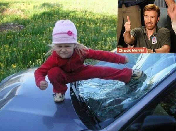 Chuck Norris Baby