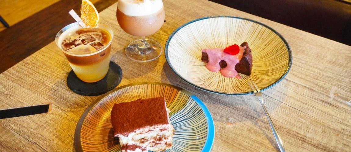 ⻄⾨町咖啡廳「ONCE Cafe & Bar」⼿沖咖啡、提拉米蘇推薦!