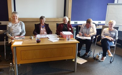 18 The Committee ready to start the AGM