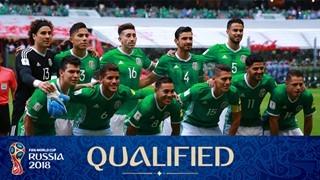 teamfoto voor Mexico