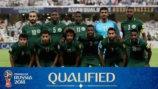 teamfoto voor Saudi Arabia