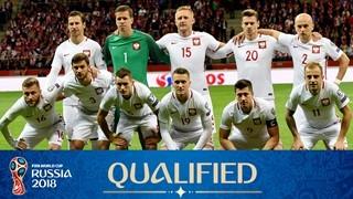 teamfoto voor Poland