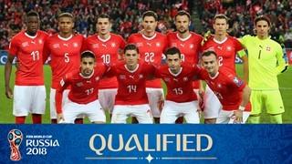 teamfoto voor Switzerland